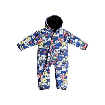 Quiksilver   Little Rookie Suit - Daphne Blue_Animal P