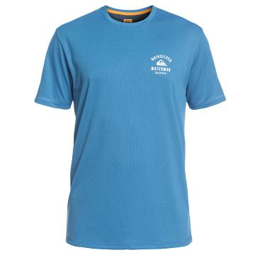 Quiksilver Mens Gut Check Short Sleeve Rashguard