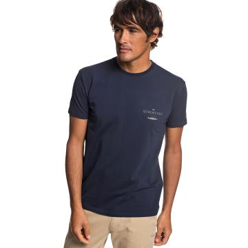 Quiksilver Mens Wasure Mono Short Sleeve Tee