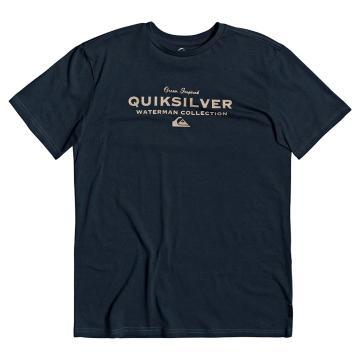 Quiksilver Men's Sea Mist Short Sleeve - Midnight Navy