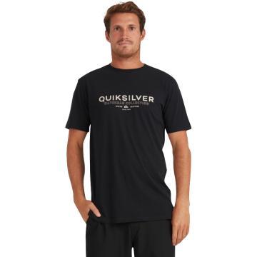 Quiksilver Men's Ocean Spray Short Sleeve - Black