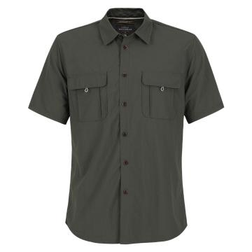 Quiksilver Men's Trailblazing Short Sleeve Shirt