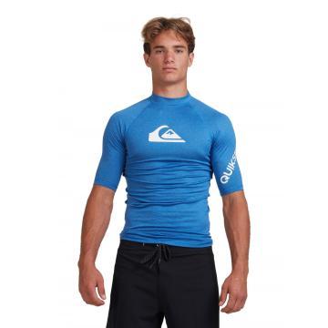 Quiksilver 2021 Men's All Time Short Sleeve Rash Vest