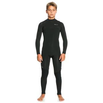 Quiksilver 2022 Youth 3/2 Everyday Sessions Zipless Wetsuit - Black