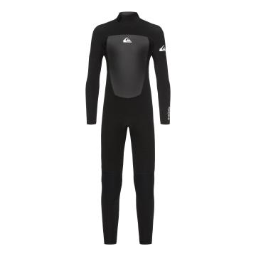 Quiksilver 2019 Boys 4/3 Prologue Back Zip Wetsuit - Black