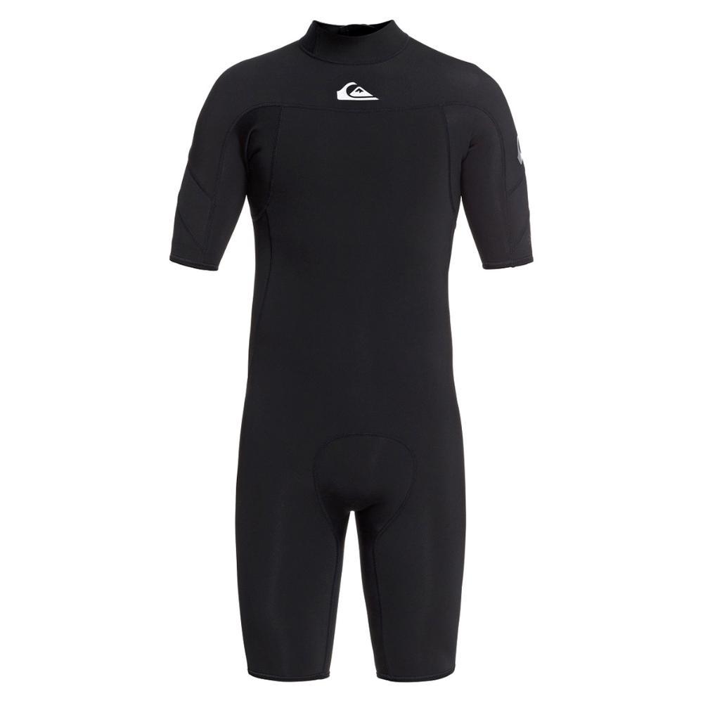 2021 Men's 2/2 Syncro Short Sleeve Back Zip - Blk/Silver