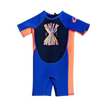 Quiksilver 2021 1.5 Syncro Toddler Back Zip Short Sleeve - Blue - Blue