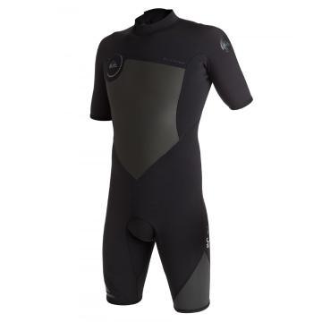 Quiksilver 2017 Men's Syncro Back Zip 2mm Spring Wetsuit