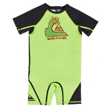 Quiksilver 2017 Toddler's 1.5mm Syncro Short Sleeve Spring Wetsuit - 2/4 Years