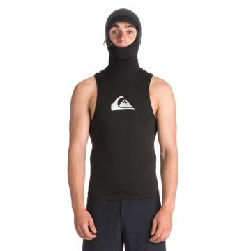 Quiksilver 2019 Mens Syncro + 2MM hooded Vest - Black