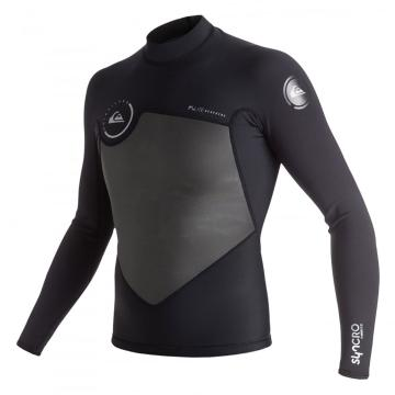 Quiksilver 2017 Men's 1.5mm Syncro Long Sleeve Mesh Wetsuit Jacket