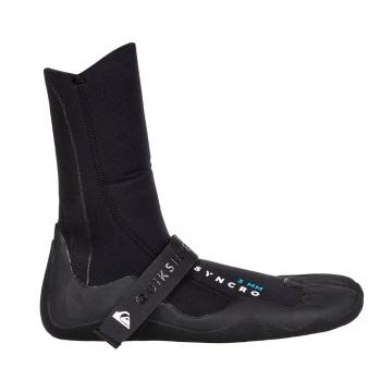 Quiksilver Men's Syncro 3mm Split Toe Surf Boots - Black