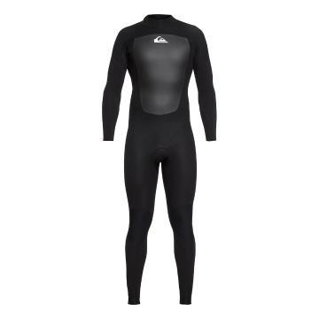 Quiksilver Mens 3/2 Prologue BZ FLT Steamer Wetsuit - Black