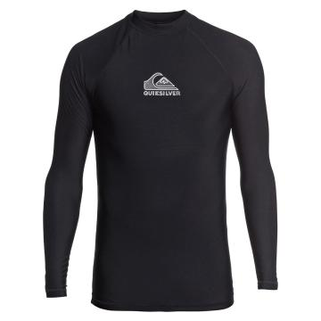 Quiksilver Men's Heater Long Sleeve - Black