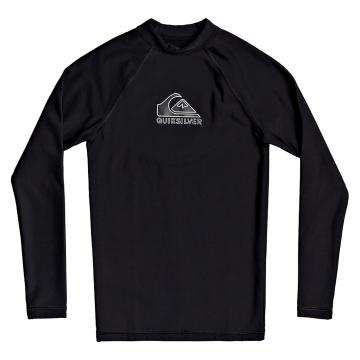 Quiksilver 2021 Youth Heater Long Sleeve - Black
