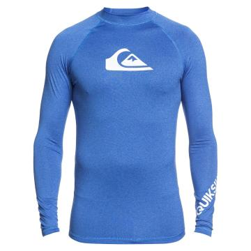 Quiksilver 2021 Men's All Time Long Sleeve - Blue - Blue