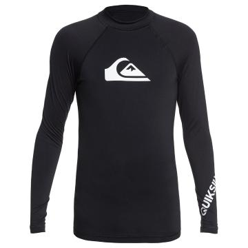 Quiksilver 2021 Youth All Time Long Sleeve - Black - Black