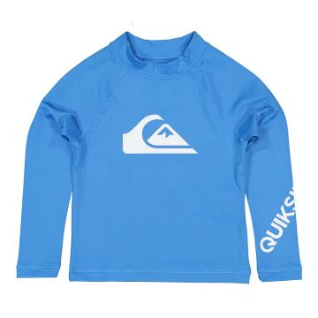 Quiksilver 2021 Youth All Time Long Sleeve Boy Blithe - Blue - Blue