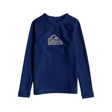 Quiksilver Heater Boy Long Sleeve - Navy Blazer
