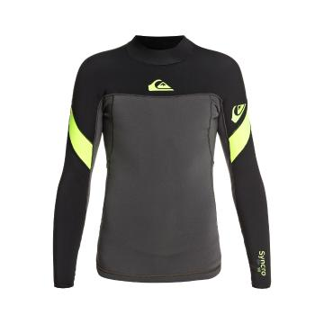 Quiksilver 2021 Youth 1.0 Syncro Boy Long Sleeve Jacket - Black