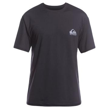 Quiksilver 2021 Men's Beta Test Short Sleeve - Black - Black