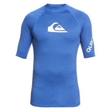 Quiksilver 2021 Men's All Time Short Sleeve - Blue