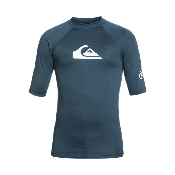 Quiksilver 2021 Youth All Time Short Sleeve - Navy  - Navy