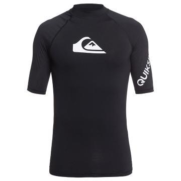 Quiksilver 2021 Men's All Time Short Sleeve - Black
