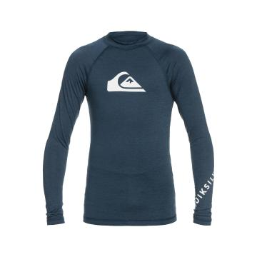 Quiksilver 2022 Youth All Time Long Sleeve - Navy Blazer Heather