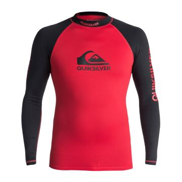 Quiksilver Men's On Tour Long Sleeve Rash Top