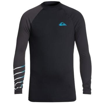 Quiksilver Mens Active Long Sleeve Rash Vest