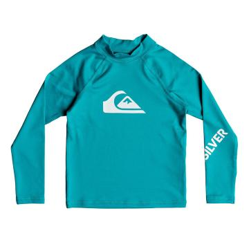 Quiksilver Boys All Time Long Sleeve Rash Shirt