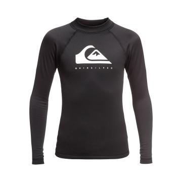 Quiksilver 2019 Youth Heater Long Sleeve - Black
