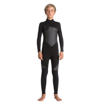 Quiksilver 2018 Boy's 4/3mm Syncro Steamer Wetsuit - Back Zip