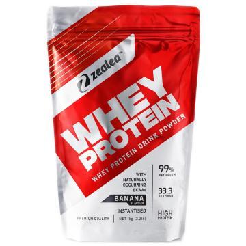 Zealea Whey Protein 1kg - Banana