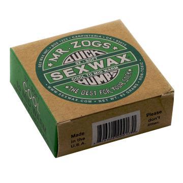 Sex Wax Quick Humps Green (3X-Soft) Cool