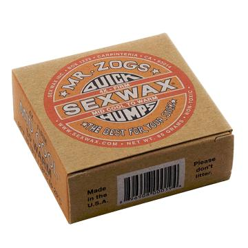 Sex Wax Quick Humps Orange - Cool/Warm