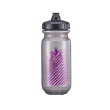 Liv Doublespring 600CC Trasparent Bottle - Black/Pink