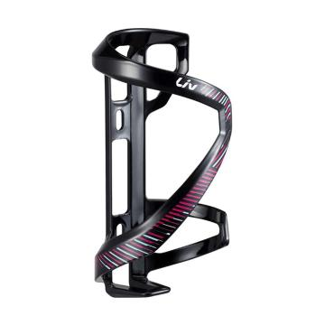 Liv Airway Sport Sidepull Right Bottle Cage - Black/Purple