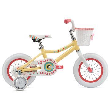 Liv Adore 12 Kids Bike - Light Yellow