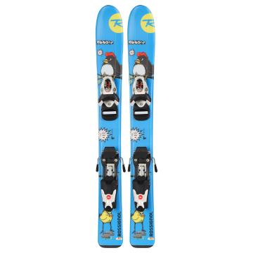 Rossignol Kid's Roostie Ski and Binding Set