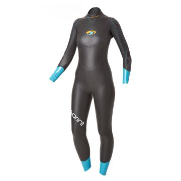 Blueseventy 2016 Women's Sprint Full Wetsuit - Black