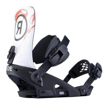 Ride 2020 Men's Ltd Snowboard Bindings - Rad Dan/Black
