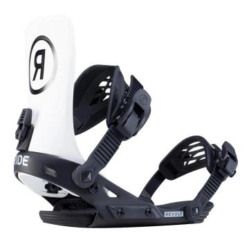 Ride 2020 Men's Revolt Snowboard Bindings - Off White