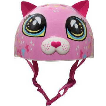 Raskullz Astro Cat Toddler Helmet - Pink 48-52cm - Pink