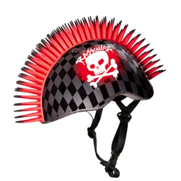 Raskullz Skull Hawk Child Helmet - Red 50-54cm