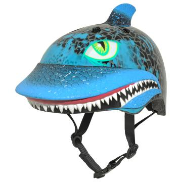 Raskullz 2019 Kids Helmet  - Shark Attax Black