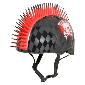 Raskullz 2019 Kids Helmet  - Skull Hawk Red