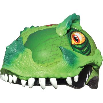 Raskullz Raskullz Kids Helmet - T Rex Awesome Green