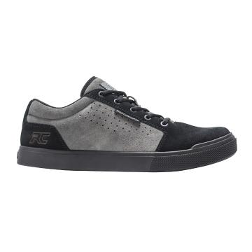 Ride Concepts Vice MTB Flat Shoes - Charcoal/Black - Charcoal/Black